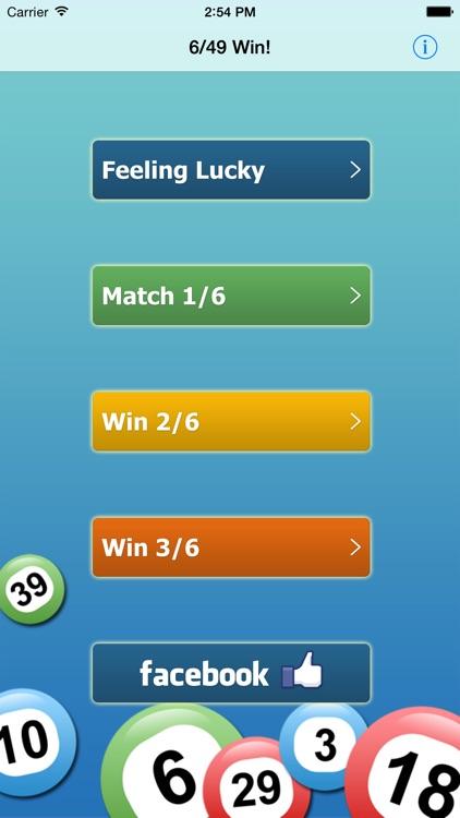 6/49 Win!