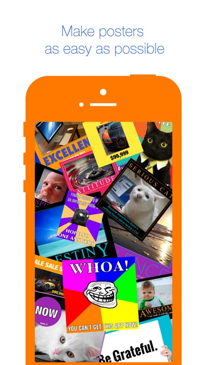 poster maker app add caption or quote to picture by vyacheslav zubenko