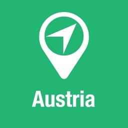 BigGuide Austria Map + Ultimate Tourist Guide and Offline Voice Navigator
