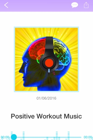 Screenshot of Positive Thought Cardio Workout Meditation for Prosperity