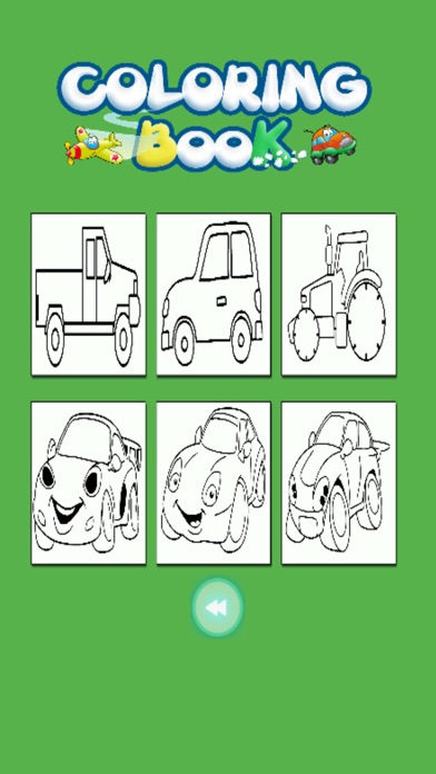 Kids Coloring Book - Cute Small Car Aichi