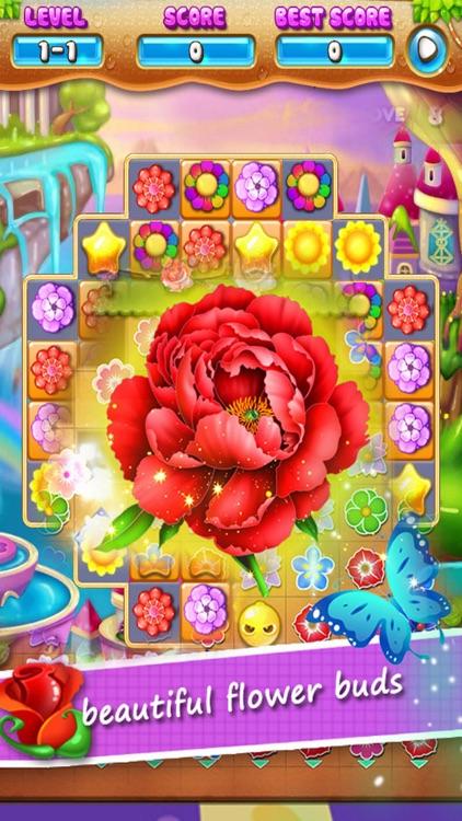 Blossom Paradise Puzzle Quest