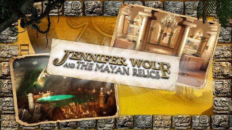 Jennifer Wolf and the Mayan Relics - A Hidden Object Adventure screenshot-0
