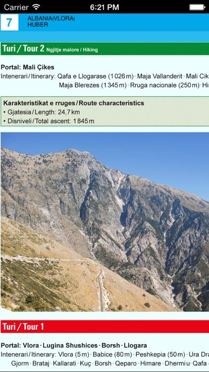 Vlora. Tourist map. screenshot-4