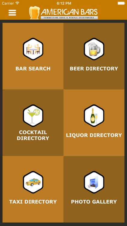 American Bars - Find a Bar, Cocktails & Recipes, Beers, Trivia, Reviews, Events, Social Network screenshot-1