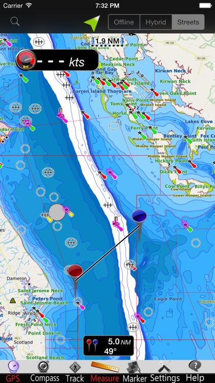 Maryland GPS Nautical charts screenshot-3