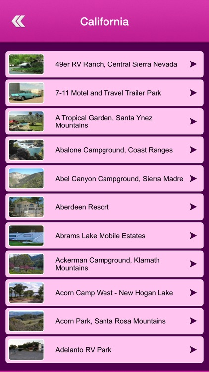 USA Campgrounds and RV Parks