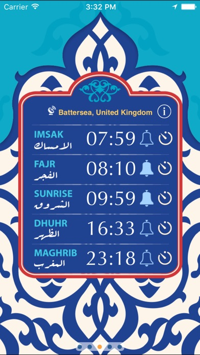 Qibla Prayer Times review screenshots