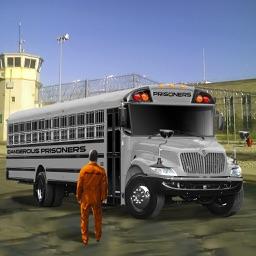 Drive Prison Bus 3D Simulator