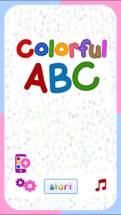 Colorful ABC (Nursery English Alphabets Flashcards for Kids   Montessori Education)-0