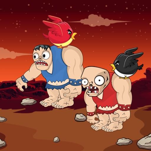 Zombie vs Bird Battle
