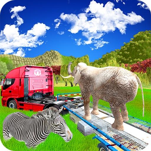 Transporter Truck Zoo Animals iOS App