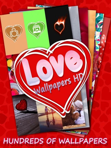 Love Wallpapers HD - Customize Your Home Screen With Romantic Backgrounds-ipad-0