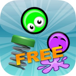 Green Goo Balls In The Bouncing World FREE