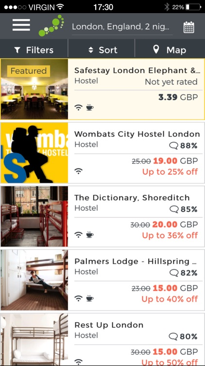 hostelbookers - Hostels and Hotels