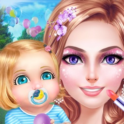 Stylish Mom's Life: Dress Up, Make Up & Baby Care Fun