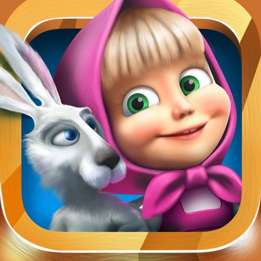 Masha and the Bear: search and rescue