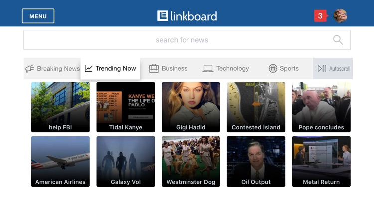 Linkboard: Business News App