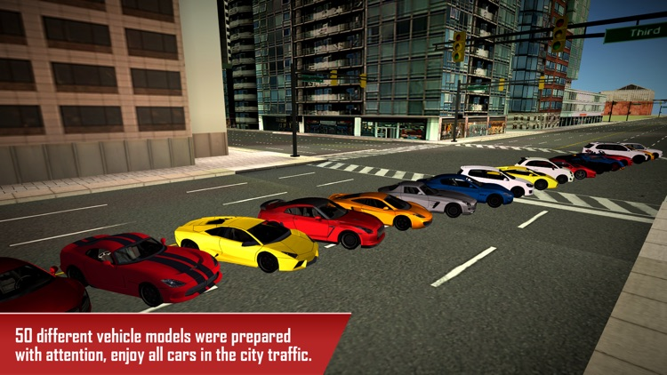 Traffic Car Driving - City screenshot-3