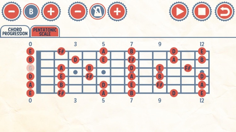 Rock Guitar Jam Track