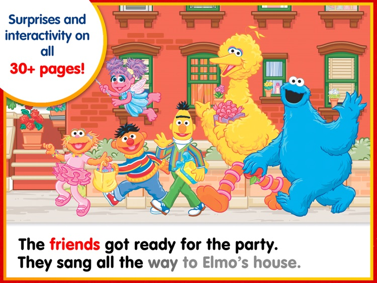 Elmo's Big Birthday Bash! – A Sesame Street Step Into Reading App