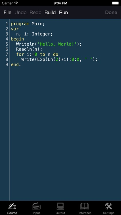 Pascal Programming Language - Compiler with Reference