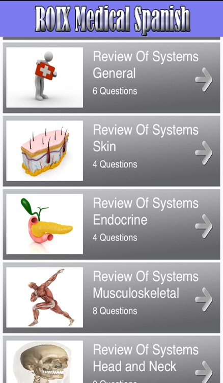RX Medical Spanish screenshot-2