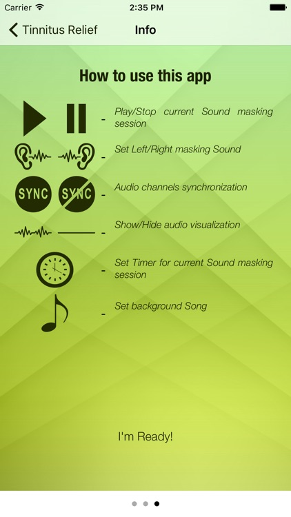 Tinnitus Relief Sound Masking System: Cure Ringing screenshot-3