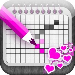 Love Japanese Crossword - Cute Nonogram for Loving Couples