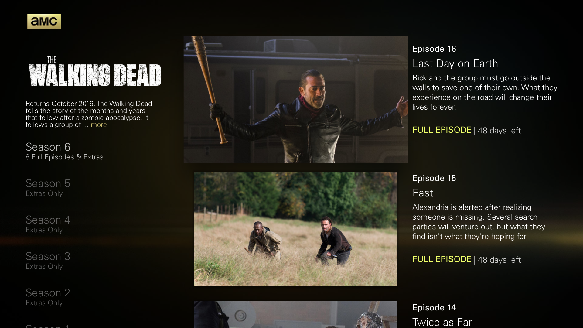 AMC: Stream TV Shows & Movies screenshot 12