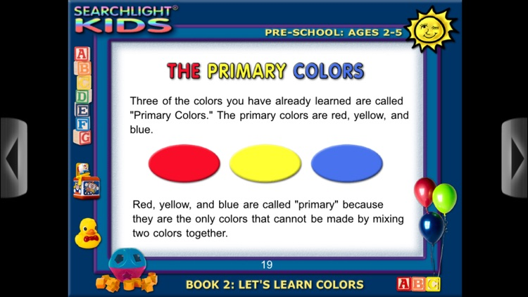 Searchlight® Kids: Let's Learn Colors screenshot-4