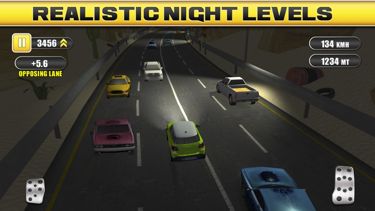 Traffic Racing a Real Endless Road Car Racer Hero screenshot-3