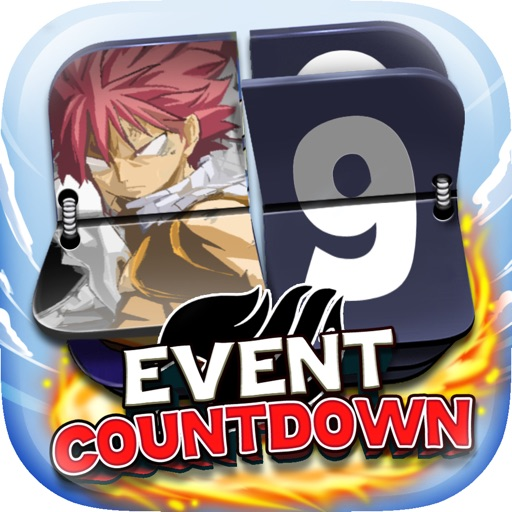 "Event Countdown Manga & Anime Wallpaper  - "" Fairy Tail Edition "" Pro"