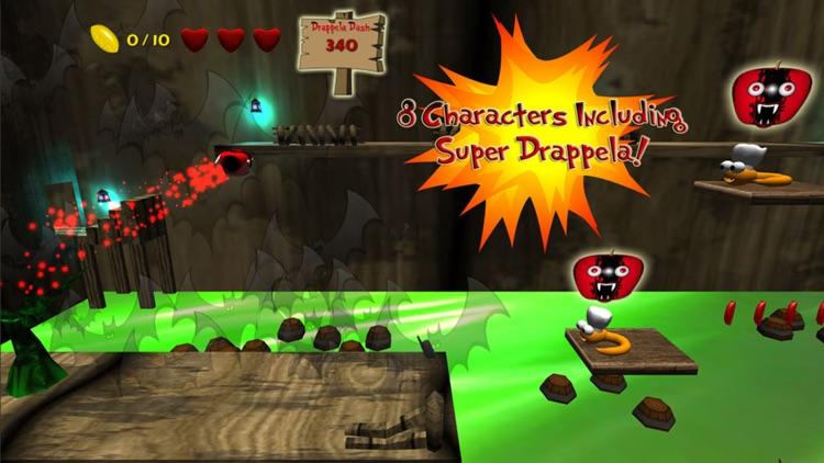Apple Avengers : Free fun run and jump platform adventure game with super hero fighting fruit screenshot-3