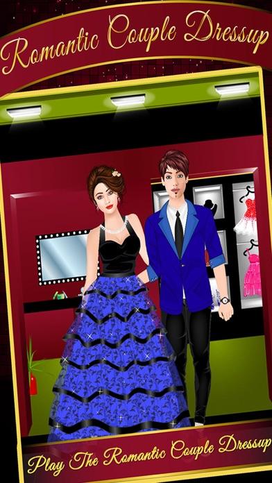 Romantic Couple Dress Up Game screenshot one