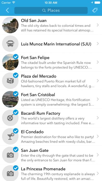 Пуэрто-Рико - Оффлайн-карта и путеводитель от TripomaticСкриншоты 3