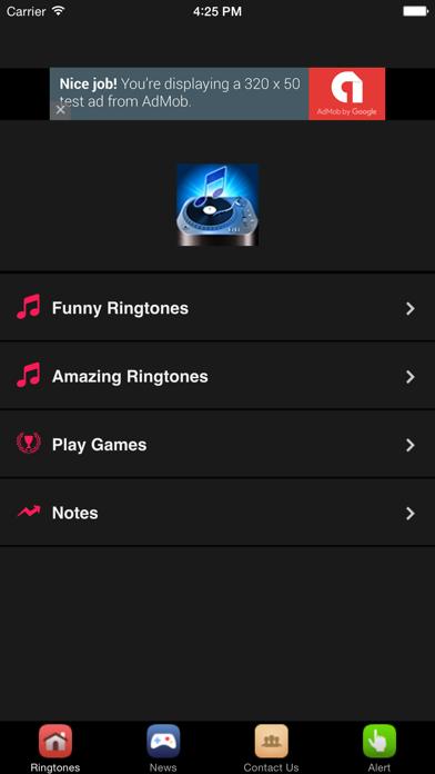Funny Ringtones #1 Laugh Ringtones screenshot three
