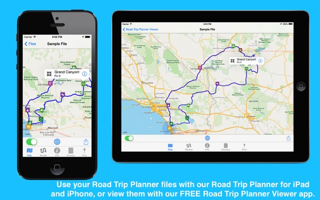 Road trip planner on the mac app store publicscrutiny Images