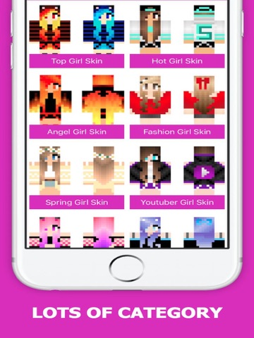 Best Girl Skins for Minecraft PE Free - 2016 Edition-ipad-1