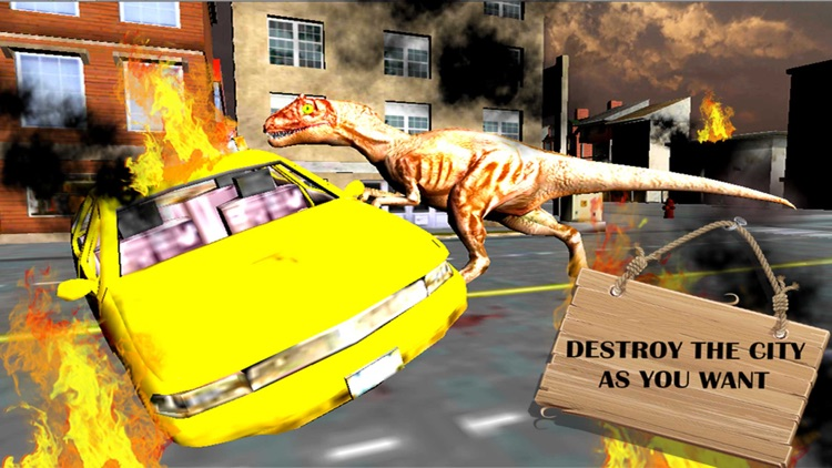 Dinosaur Simulator 3D Free screenshot-3
