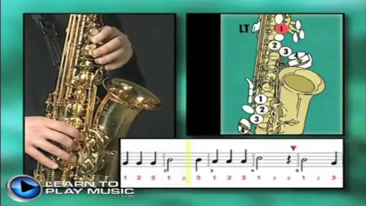 Teach Yourself To Play Saxophone screenshot-3