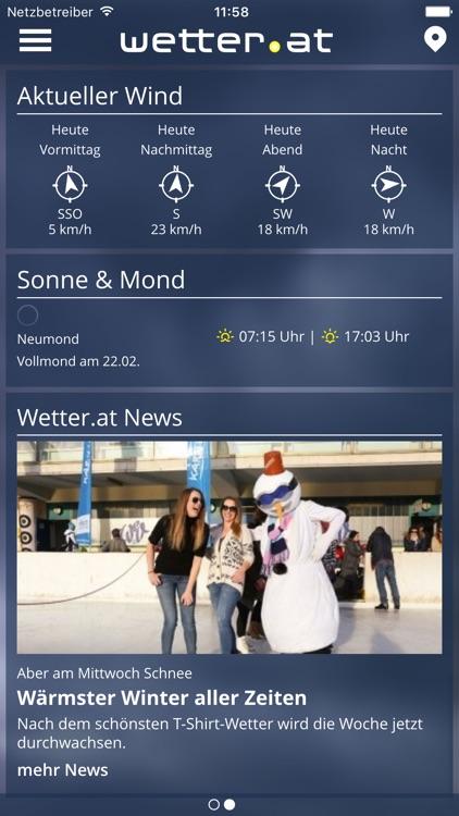 wetter.at – das aktuellste Wetter in Österreich screenshot-3