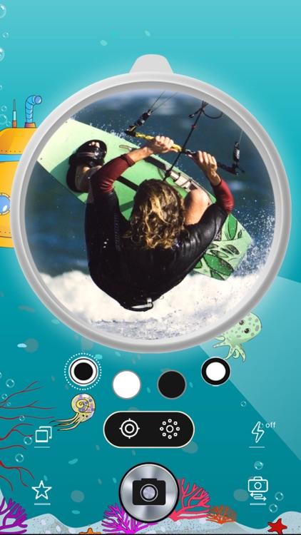 Circular Fisheye Lens Camera