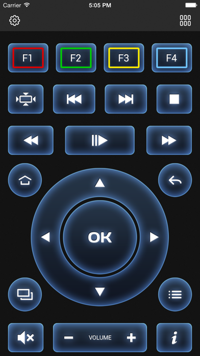 Screenshot #1 pour MAGic Remote - TV remote control