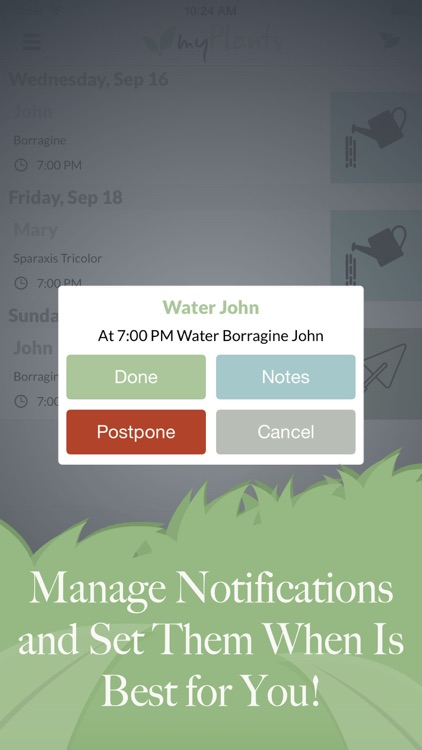 myPlants Premium | Manage tool and reminder for watering and treating your garden screenshot-4