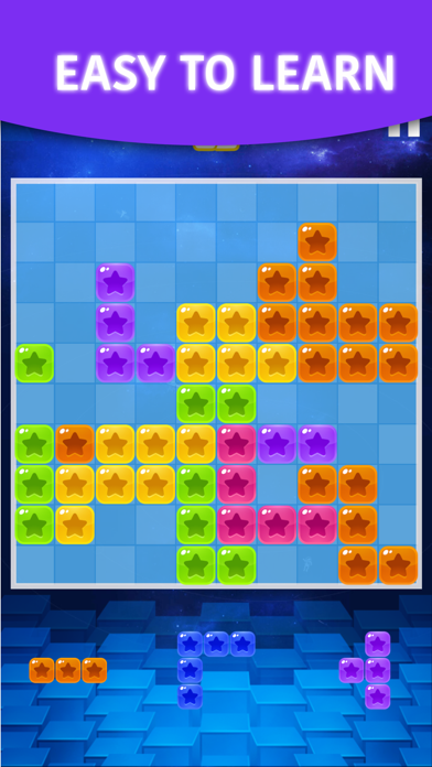 Matrix 10x10! Block Star - Tetra Cubes Puzzle Free Game