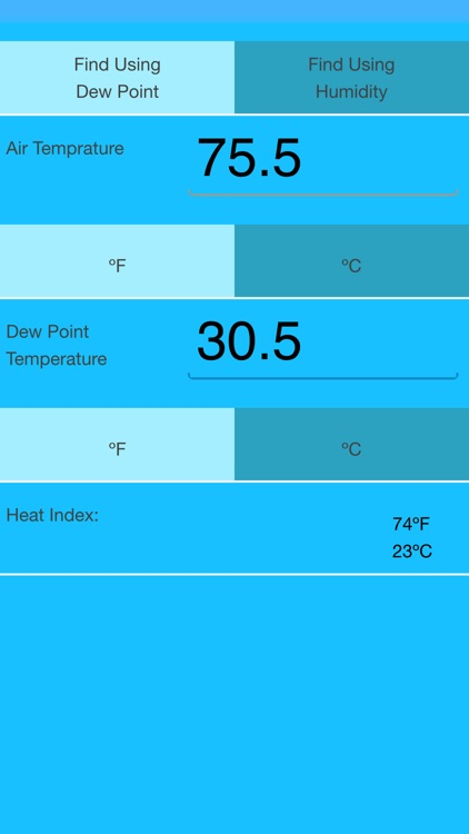 Heat Index Calculator screenshot-3