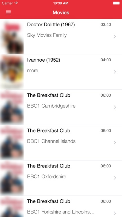 UK's Television Guide Free