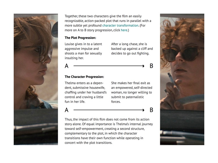 Thelma & Louise: A Screenplay Analysis