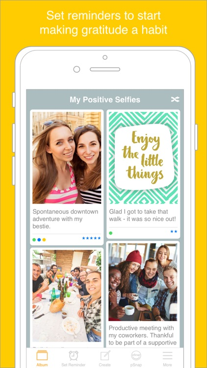 The Positive Selfie App screenshot-1